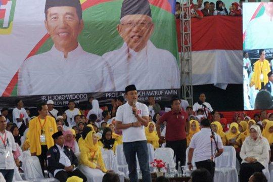 Kampanye terbuka Jokowi di Sukabumi agenda mendadak