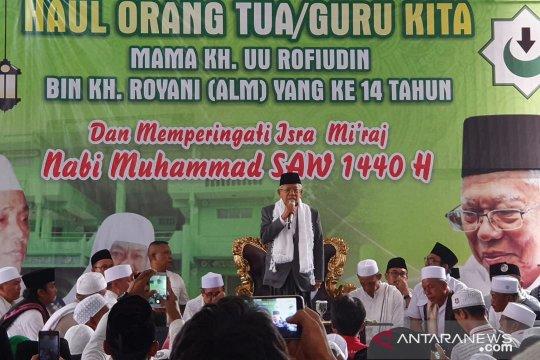 Ulama Bogor, Cianjur, Sukabumi deklarasi dukungan untuk Jokowi-Ma'ruf