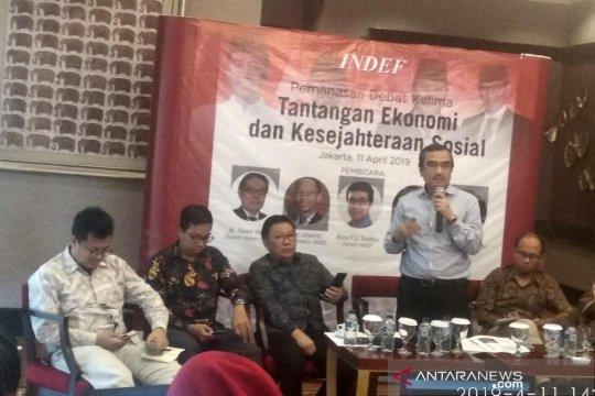 INDEF nilai rasio utang Indonesia terhadap PDB aman