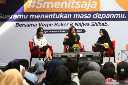 Diskusi #5menitsaja suaramu menentukan masa depanmu