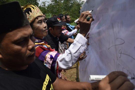 Warga Kaliurip Purworejo deklarasikan Desa Antipolitik Uang