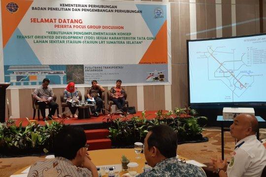 Pengembangan hunian terintegrasi LRT Palembang ditargetkan tuntas 2023