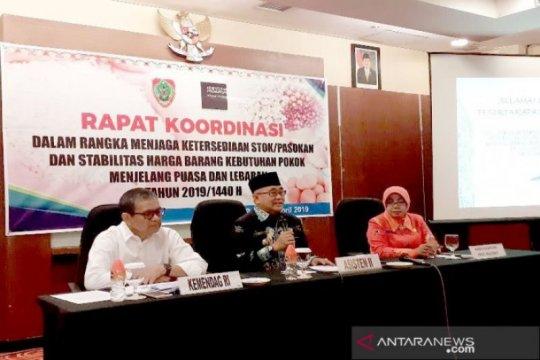 Kalteng soroti masalah penimbunan sembako jelang Ramadhan