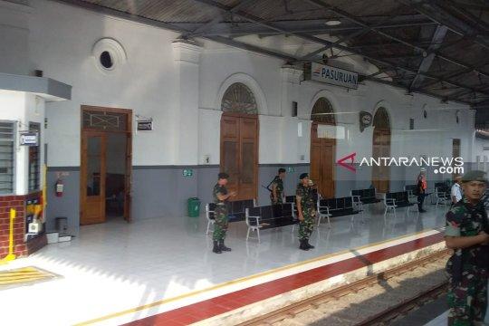 TNI amankan lima stasiun Daop 9 Jember jelang pemilu