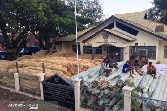 BC Bali gagalkan penyelundupan 104,4 ton rotan ke Timor Leste