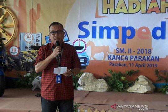 BRI Parakan targetkan dana tabungan simpedes Rp295 miliar