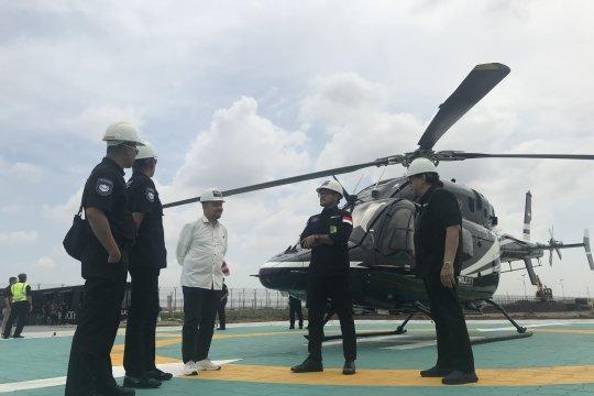 Bandara helikopter pertama di Indonesia siap diuji coba