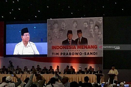 Prabowo: saatnya bertugas amankan suara