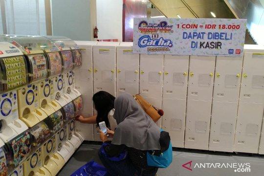 Pecinta figur Jepang hadiri Gashapon Festival di Mall of Indonesia