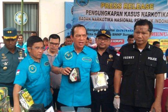 BNN amankan 84 kg sabu-sabu jaringan internasional Malaysia