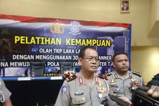 Korlantas Polri operasikan gawai canggih untuk olah TKP kecelakaan