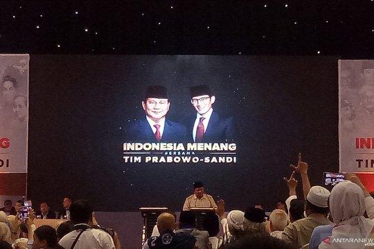 Pidato Bung Tomo diperdengarkan saat pidato kebangsaan Prabowo