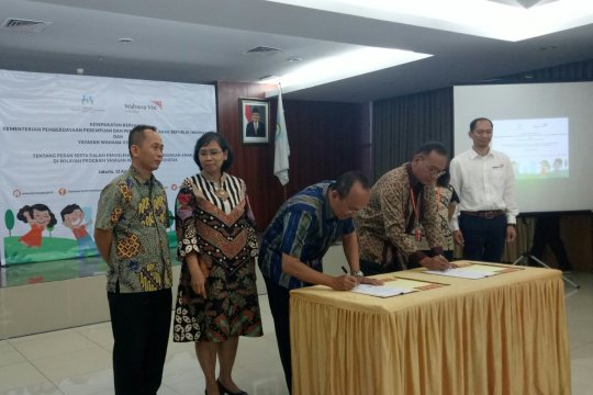 KPPPA-WVI tanda tangani kesepahaman perlindungan anak