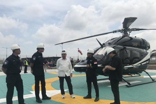 Heliport pertama di Indonesia beroperasi Oktober 2019