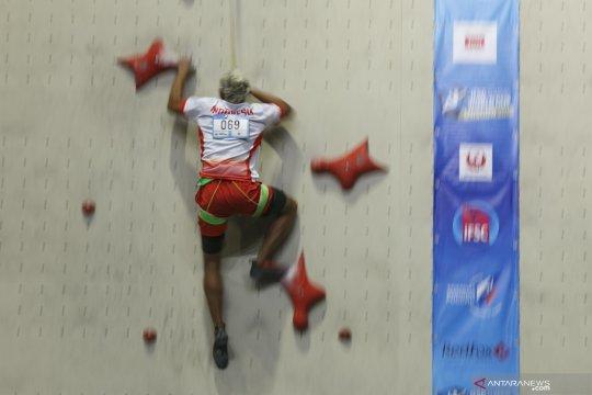 Aspar Jaelolo, atlet Panjat Tebing Indonesia ikuti kejuaraan di Rusia