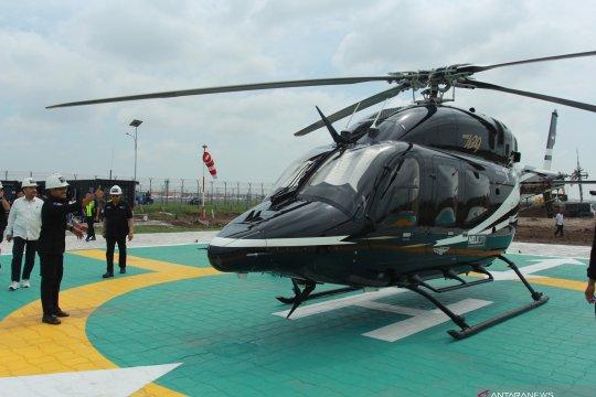 Terminal helikopter komersial sekarang ada di Bandara Internasional Soekarno Hatta