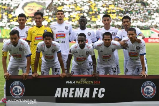 """Pelatih pastikan Arema akan bermain """"cantik"""" dan profesional"""