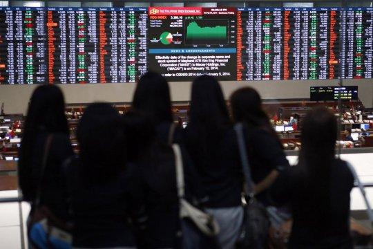 Bursa Saham Filipina melemah, Indeks PSE ditutup turun 0,56
