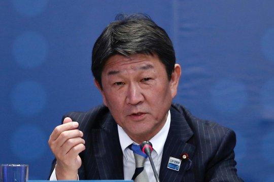 Motegi calon kuat menteri luar negeri Jepang