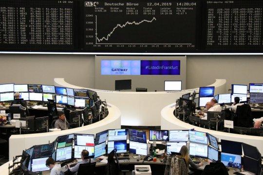 Bursa saham Jerman melambung, Indeks DAX-30 ditutup naik 347,45 poin