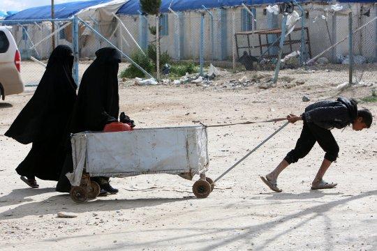 Pemompaan air dari stasiun Alouk di Ras Al-Ayn dimulai