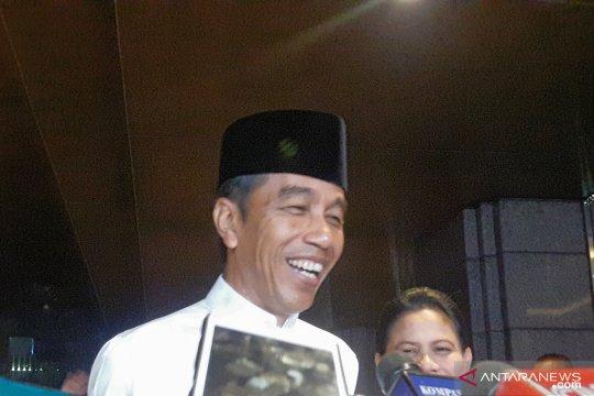 Jokowi imbau masyarakat jaga ketertiban masa tenang