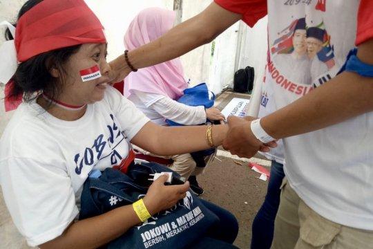 1.000 pemijat siap lepaskan penat relawan Jokowi-Ma'ruf di GBK