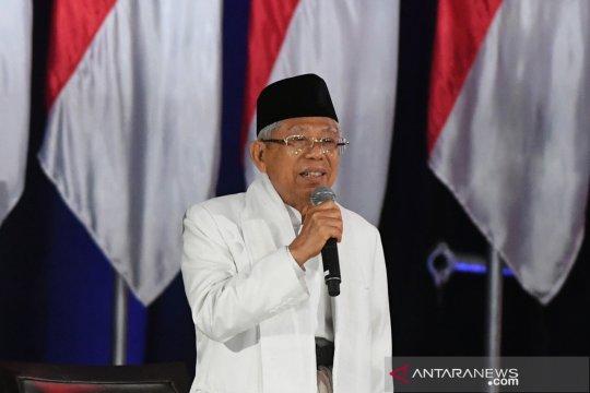 Ma'ruf Amin: standar halal Indonesia jadi acuan dunia