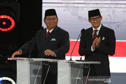Prabowo-Sandi unggul tipis di Sulsel