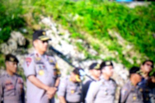 Kapolda Sulbar lepas personel BKO pengamanan TPS