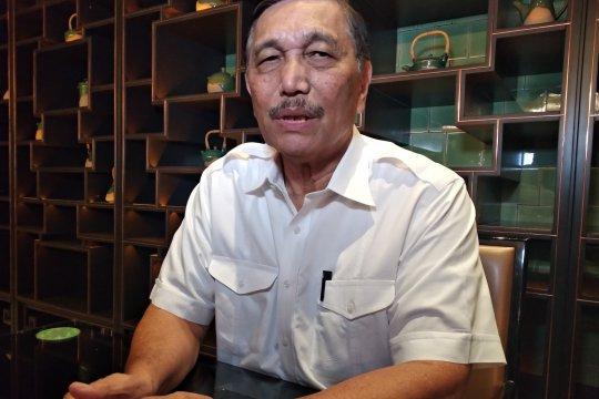 Luhut tegaskan tidak diusir di kampus Panca Budi Medan