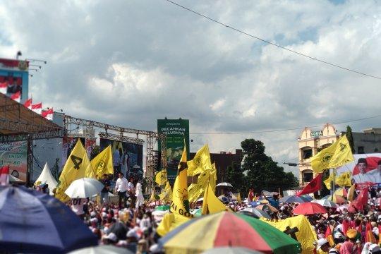 Ribuan masyarakat Bandarlampung hadiri kampanye akbar Pujo