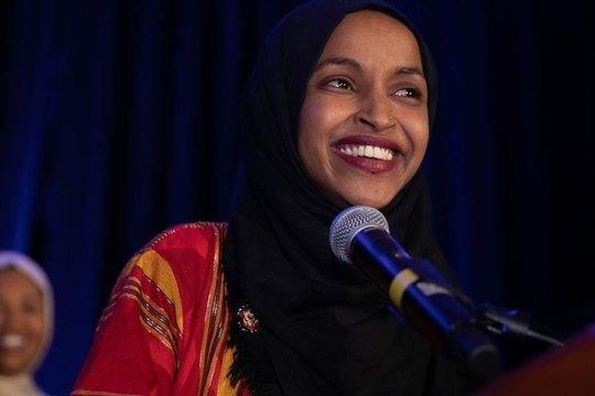 Pendukung Ilhan Omar berkumpul di Minnesota