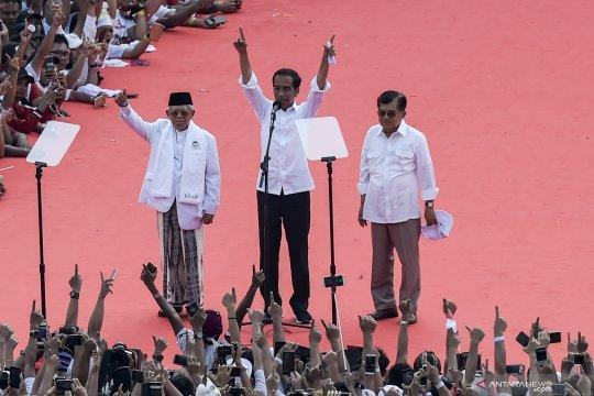Jokowi ucapkan terima kasih kepada JK