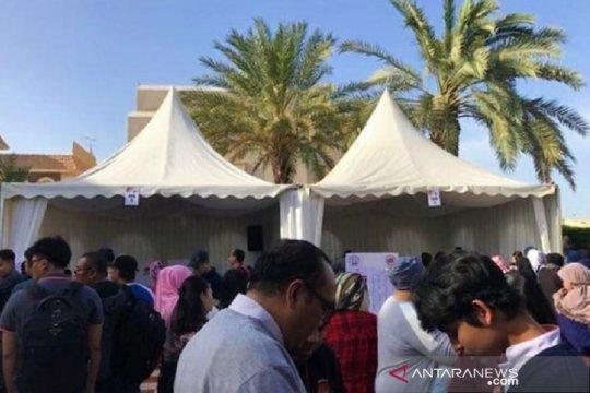 Diaspora Indonesia di Kuwait sempatkan cuti untuk pemilu