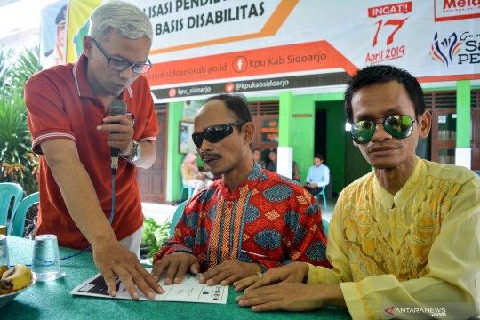 Sosialisasi bagi pemilih penyandang disabilitas