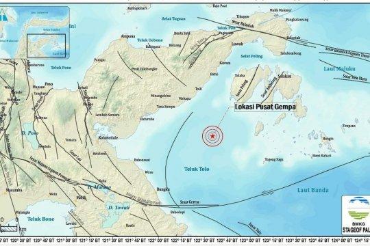 Gempa Banggai dipicu sesar aktif Telok Tolo