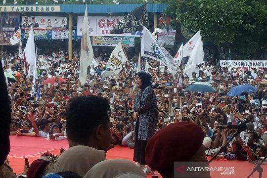 Rhoma dan Nissa Sabyan semarakkan kampanye Prabowo-Sandi di Tangerang
