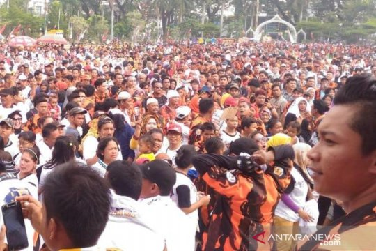 Pemuda Pancasila Sumut deklarasi dukung Jokowi-Ma'ruf Amin