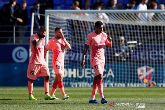Hasil dan klasemen Liga Spanyol, keunggulan Barcelona terpangkas lagi