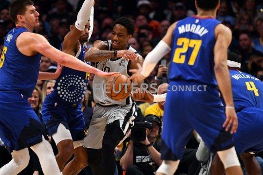 DeRozan pimpin Spurs bungkam Nuggets 1-0
