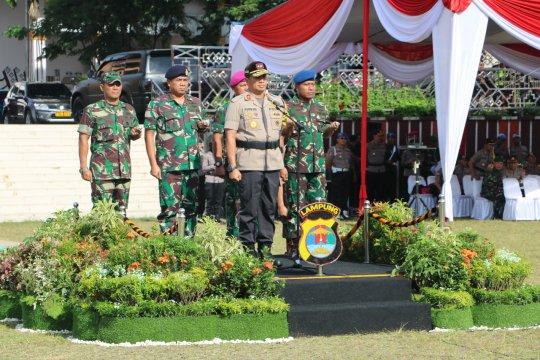 Kapolda Lampung minta personel siapkan mental dan fisik kawal Pemilu