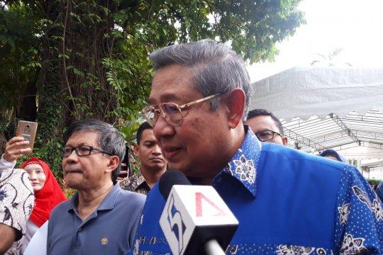 SBY nyoblos di KBRI Singapura