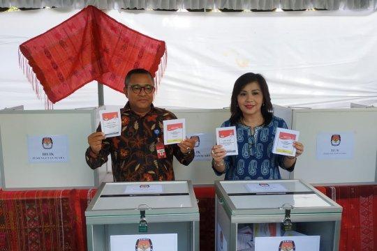 3.410 WNI di Timor Leste memilih langsung di TPSLN KBRI Dili