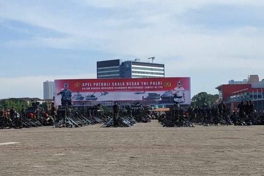 TNI-Polri gelar apel gabungan kesiapsiagaan pemilu aman