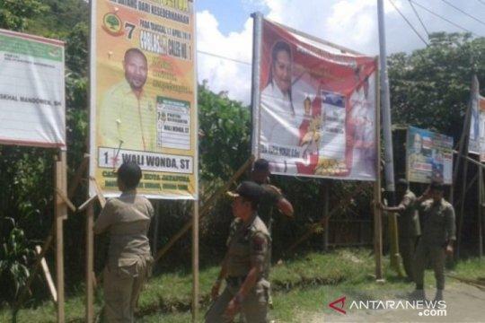 Bawaslu Kota Jayapura belum tertibkan APK
