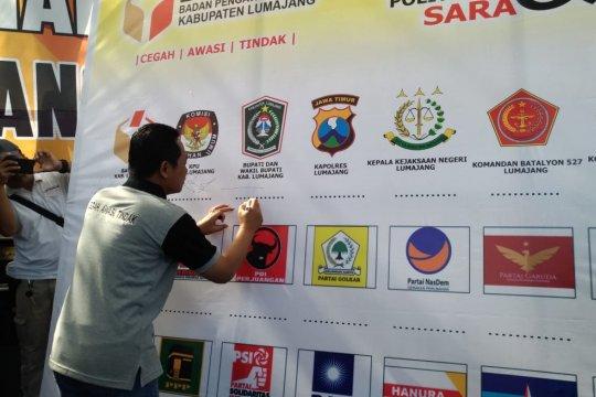 Deklarasi antipolitik uang di Kabupaten Lumajang