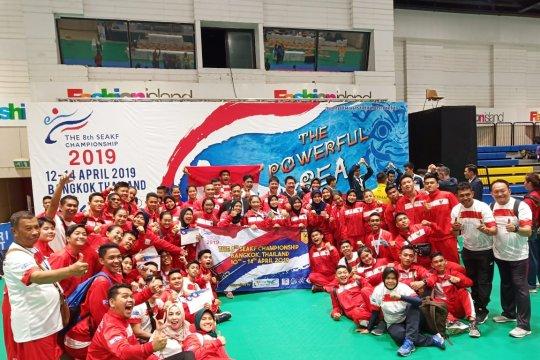 Indonesia kemas 8 emas SEAKF di Bangkok