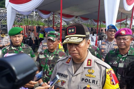 Kapolda Lampung pimpin apel 63.000 personel gabungan amankan Pemilu