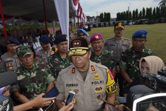 Polda Lampung catat enam kabupaten rawan pada pelaksanaan Pemilu 2019